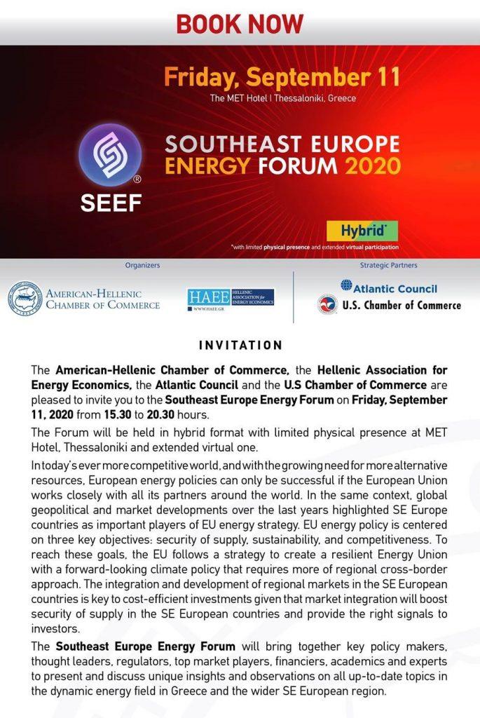 SE Energy forum 2020